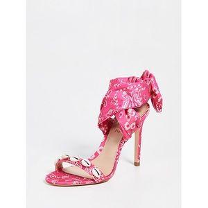 Schutz Dani bandana sandals pick size 6